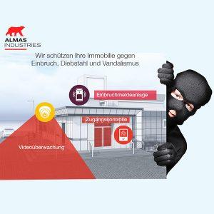 Einbruchschutz - Almas Industries