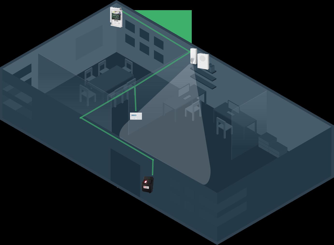 einbruchmeldeanlage_zutrittskontrolle_skizze