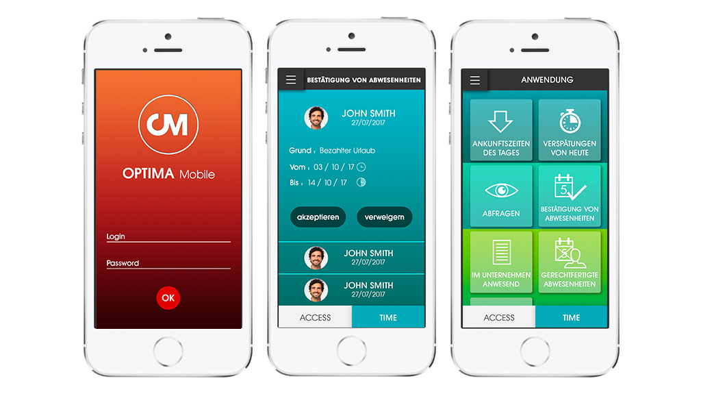 Optima Time mobile