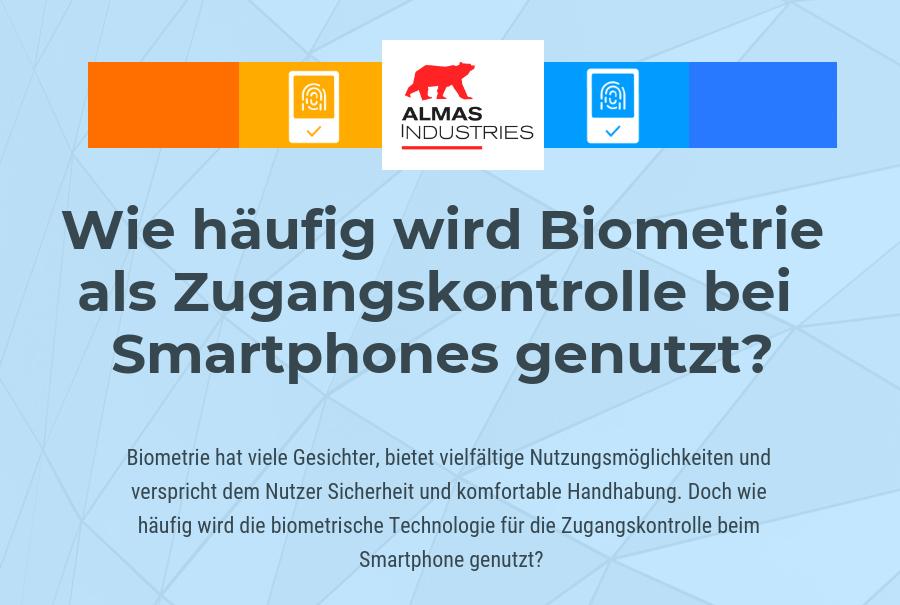 Studie: Wie häufig werden biometrische Zutrittskontrollen genutzt ?