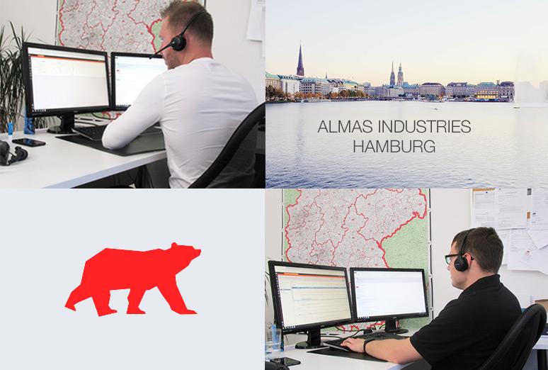Almas Industries stellt den technischen Support in Hamburg vor