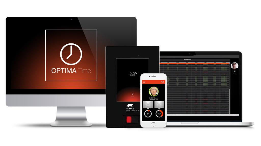 OPTIMA TIME | Zeiterfassung | ALMAS INDUSTRIES